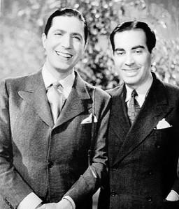 Carlos Gardel y Alfredo Lepera